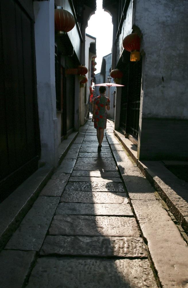 昆山摄影家 - 美丽背影