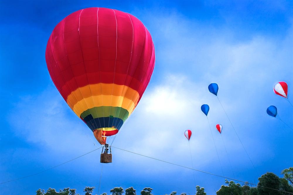 体验热气球